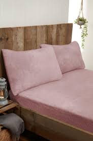 cosy teddy fleece bedding