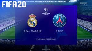 FIFA 20 Demo - Real Madrid vs. Paris Saint Germain @ Estadio ...