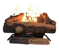 vent free propane gas fireplace logs