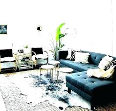 living room ideas with black sofas