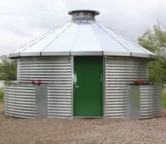 new grain bin homes by sukup green