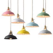 shade pendant lamp light e27 bulb