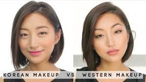 korean vs western beauty trends