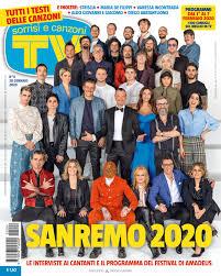 Sanremo 2020 with Tv Sorrisi e Canzoni