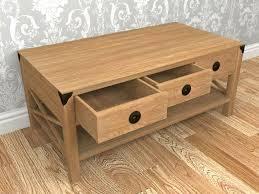 chestnut coffee table louden