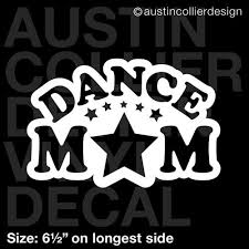 Auto Parts And Vehicles Studio Team Gift 6 5 Dance Mom Vinyl Decal Car Window Laptop Sticker Car Truck Graphics Decals
