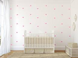 Set Of 96 Pieces 2 Heart Wall Decor Sticker Diy Children S Wall Decor Decals Removable Vinyl Kids Room Baby Boys Grils Bedroom Wall Sticker Soft Pink Baby B077mc9frp