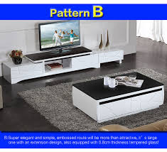 high gloss tv cabinet unit and coffee
