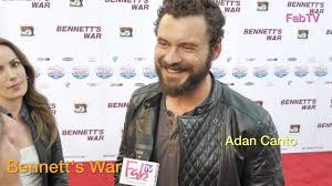 "Adan Canto at the ""Bennett's War"" premiere - YouTube"