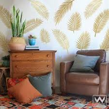 Large Palm Leaves Fronds Nature Vinyl Wall Decal Graphic Stickers Wallternatives