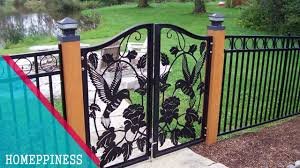 New Design 2017 30 Modern Metal Iron Fence Gates Ideas Garden Fence Panels Fence Gate Design Iron Fence Panels