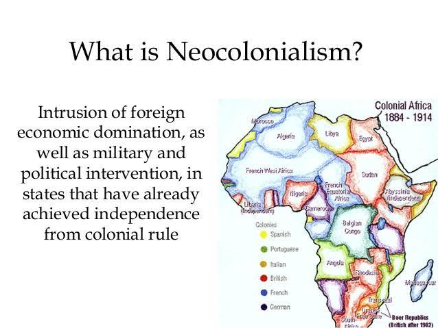 Neocolonialism in Africa Neocolonialism in Nigeria