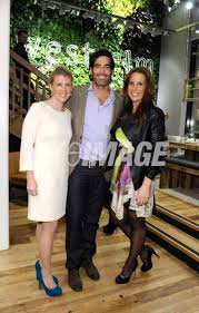 Abigail Jacobs Carter Oosterhouse and Kendall Coleman attend West Elm...    WireImage   136004974