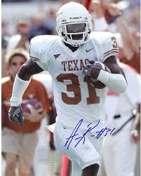 Aaron Ross University of Texas Vertical 8x10