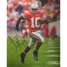 Signed Troy Smith Picture - 16X20