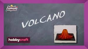 how to make a clay volcano hobbycraft