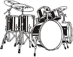 Amazon Com Ttnan Wall Stickers Drum Set For Kids Room Bedroom Vinyl Removable Wall Decal Wallpaper Stickers Home Decoration 60x44cm Home Kitchen