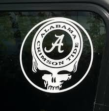 Alabama Crimson Tide College Football Vinyl Decal Laptop Windows Wall Car Boat