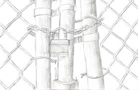 Chain Link Fence Gate By Bagnome On Deviantart