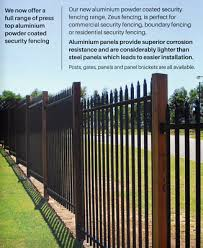 Spear Top Black Heavy Duty Security Steel Fencing Fence Panels Superior Strengh Ebay