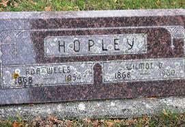 Ada Wells Hopley (1868-1954) - Find A Grave Memorial