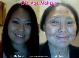 makeup look old age