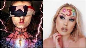 10 stranger things makeup looks from