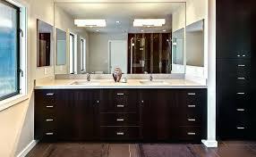 lighting modern bathroom mirror