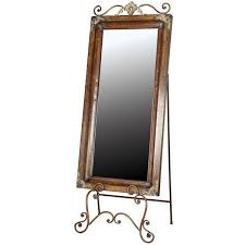 large easel dressing mirror