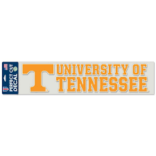 Tennessee Volunteers Wincraft 4 X 17 Colored Perfect Cut Decal