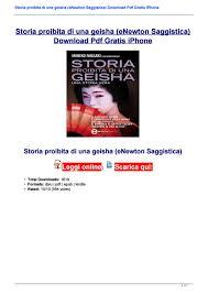 Storia proibita di una geisha (eNewton Saggistica) Download Pdf ...