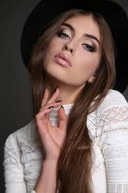 elegant makeup woman stock photo free