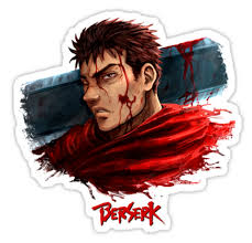 Srbb1772 Berserk Car Window Decal Sticker Anime Animestickershop