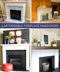 budget friendly fireplace makeovers