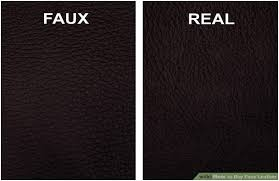what is faux leather and how it s used