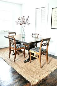 dining farmhouse kitchen table rugs