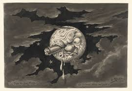 Georges Méliès. Untitled sketch for A Trip to the Moon. 1902 | MoMA