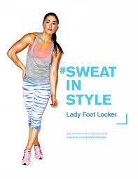 Lady Foot Locker - Jessica Rello // ACD Copywriter