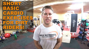 fitness for dirt riders cardio