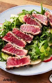 Ahi tuna salad, Tuna steak recipes