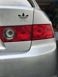 Adidas Decal Sticker Car Laptop Macbook Luggage Japan Japanese Adidas Nike Puma Oracle Vinyl Car Decals Stickers
