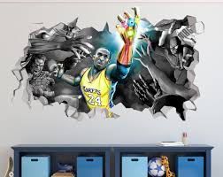 Kobe Thanos Glove Wall Decal Basketball Wall Decal