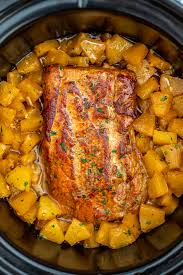 slow cooker pineapple pork loin video
