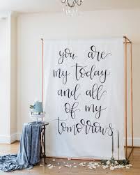 creative ways to display quotes at your wedding martha stewart