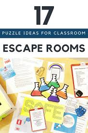 Escape Room Puzzle Ideas For The Science Classroom Kesler Science Escape The Classroom Escape Room Escape Room For Kids