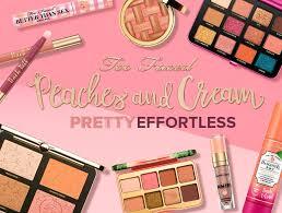 peaches and cream matte makeup