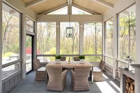modern enclosed patio design ideas