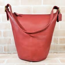 gypsophila leather duffel shoulder bag