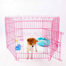 Can Be Trained Pet Dog Fence Indoor Puppy Teddy Small Guardrail Isolation Door Rabbit Cage Houses Kennels Pens Aliexpress