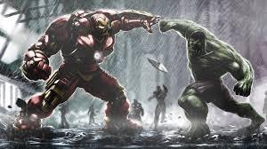 hulkbuster vs hulk hd superheroes 4k